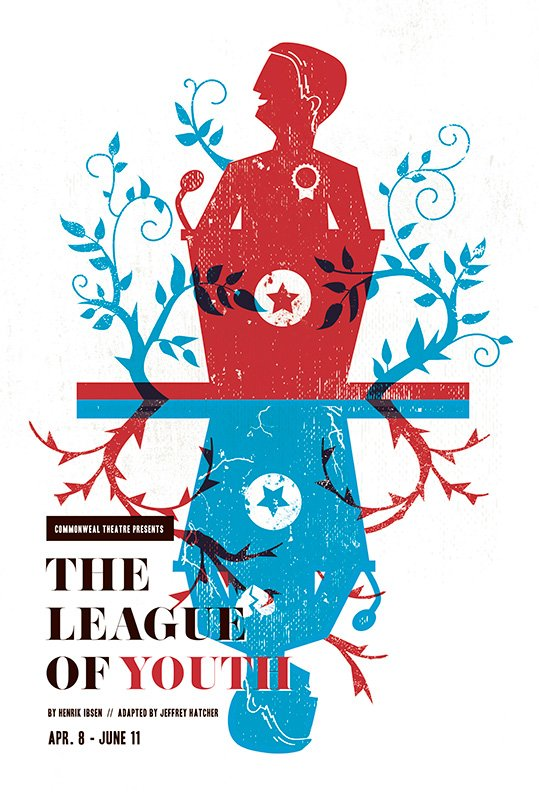 The League of Youth playbill, 2016