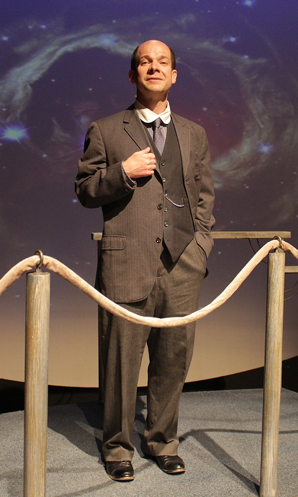 Commonweal professional resident ensemble member Eric Lee in the role of Peter Shaw in Silent Sky