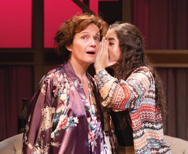 Colleen Barrett and Fernanda Badeo in The Clean House by Sarah Ruhl